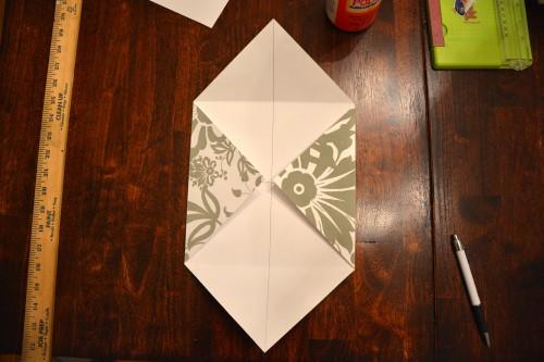 Cách làm hộp quà bằng giấy 10