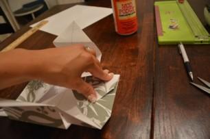Cách làm hộp quà bằng giấy (24)