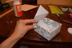 Cách làm hộp quà bằng giấy (33)