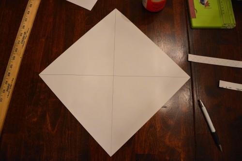 Cách làm hộp quà bằng giấy 7