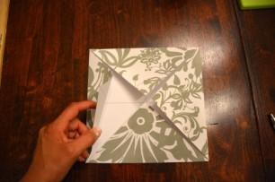 Cách làm hộp quà bằng giấy 9