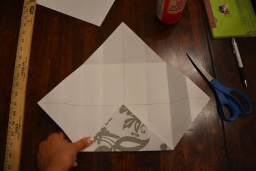 Cách làm hộp quà bằng giấy 15