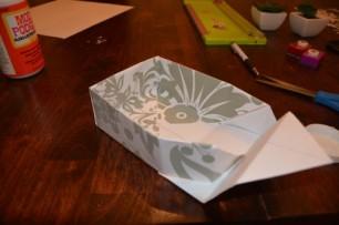Cách làm hộp quà bằng giấy (32)