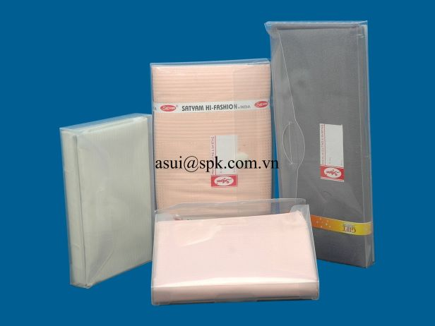 Underwear packaging boxes PP PET PVC plastic