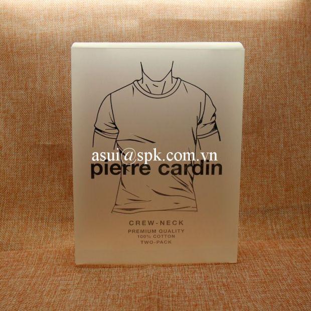 Underwear packaging boxes PP PET PVC plastic
