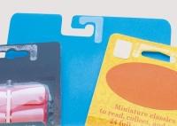 Gia cố tăng độ cứng cho phần treo của hộp giấy hoặc hộp nhựa Reinforcer Hang Tabs